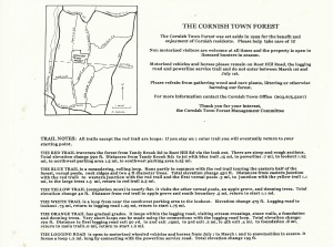 town forest map text